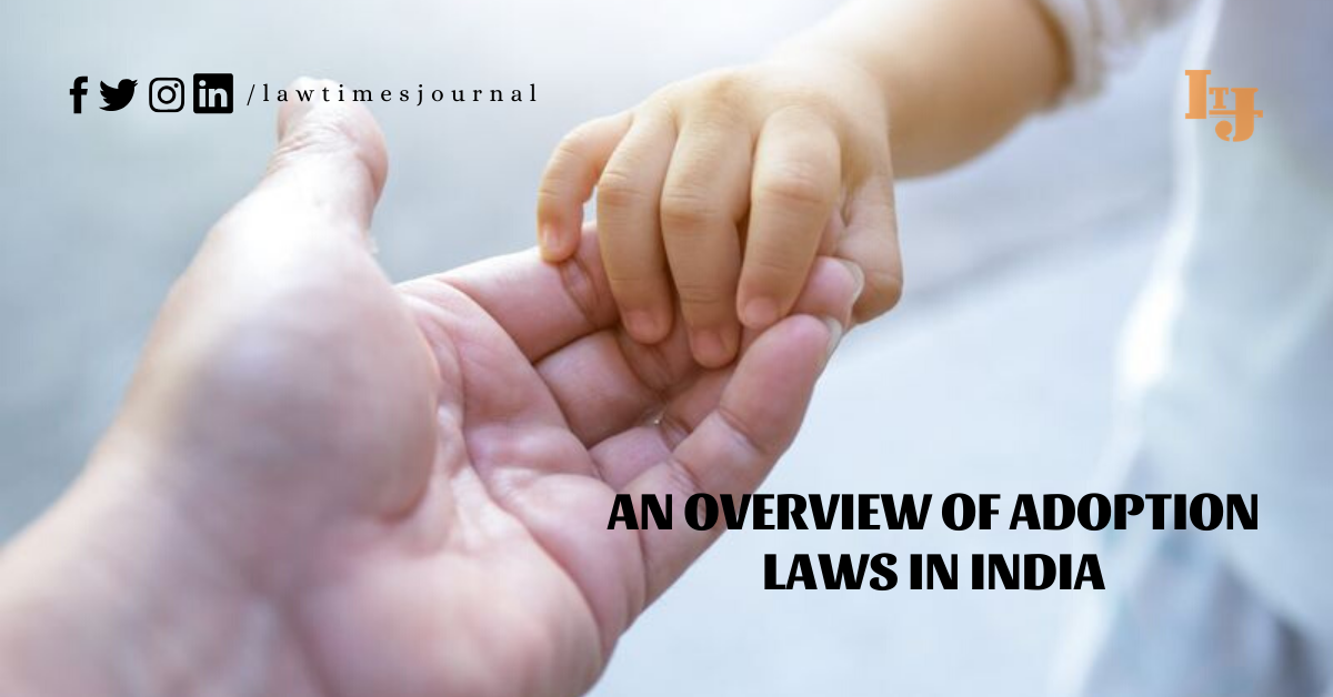 child adoption laws in India