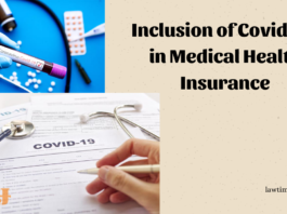 Inclusion of Covid-19 in Medical Health Insurance