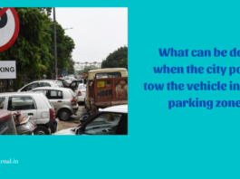 What can be done when the city police tow the vehicle in a non parking zone?